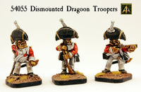 54055 Dismounted Dragoon Troopers