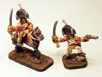 54057 Major Giglamps -Pro-Painted Set of 2 Miniatures-Ready to Ship