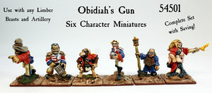 54501 Obidiah's Gun Complete Set of Six (Save 10%)