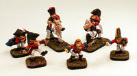 54506 Orc Command Pro-Painted Cavalry & Infantry Officers: 6 Miniatures: Ready to Ship