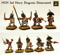 54524 2nd Heavy Dragoons Dismounted
