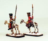 55000-2 Pro-Painted Liteupski Lancers: Undead Skeletal Cavalry: Ready to Ship