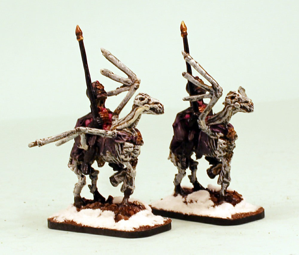 55008-2 Pro-Painted 2nd Winged Hussars: Undead Wraith Cavalry: Ready to Ship
