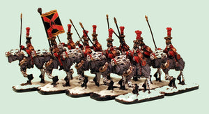 55502-U 1st Guard Liteupski Lancers Undead Cavalry Unit (10): Pro-Painted & Ready to Ship.