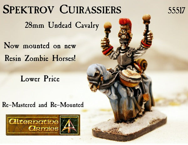 55517 Spektrov Cuirassiers new horse and lower price