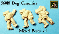 56018 Dogmen Casualties now in resin with lower price!