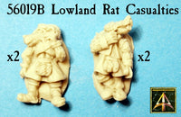 56019B Lowland Rat Casualties now in resin lower price!