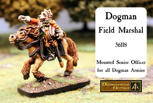 56118 Dogman Field Marshal Mounted