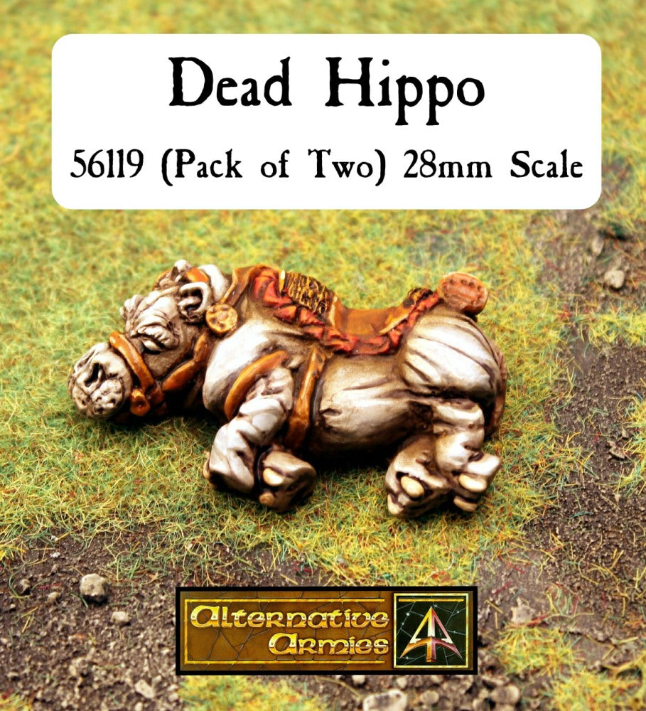 56119 Dead Hippo (Pack of Two)