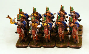 56509-U Dogman Hussars-Pro-Painted Unit of 10 Dog Cavalry: Ready to Ship