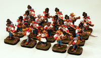 56513-U Dogman Grenadier Infantry Pro-Painted Unit: 20 Dog Miniatures: Ready to Ship