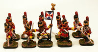 56519 Saxhunde Grenadier Infantry-Pro Painted Skirmish Set Ready to Ship