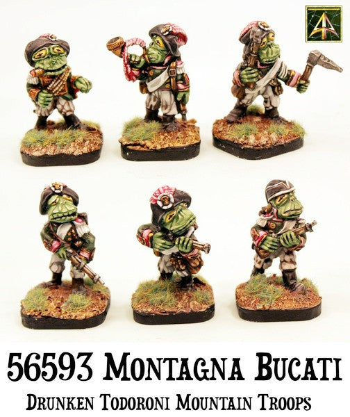 56593 Montagna Bucati Light Infantry