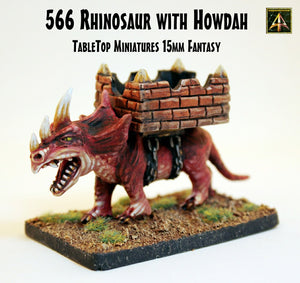 566 Rhinosaur with Howdah  (25% off)