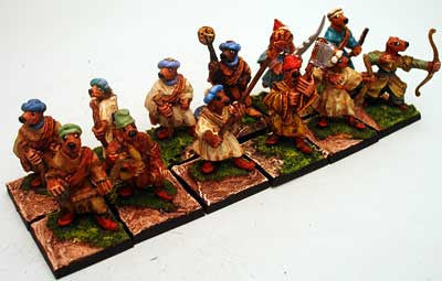 57014 Household Warriors Muskets