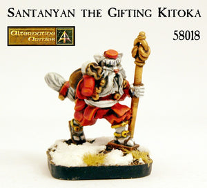 58018 Santanyan the Gifting Kitoka - Added FREE to every January order shipped out!