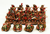 58509-U Von Hopp Chasseurs-Pro-Painted Unit with Flagged Standard and Free Casualties-Ready to Ship