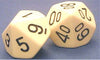 59013 Dice - D10 and Percentile