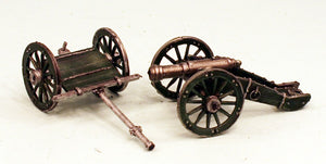 59502 Ferach Artillery - One Cannon & One Limber-Pro-Painted Ready to Ship