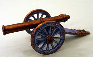 59520 Mortar Set-Pro-Painted-Resin and White Metal Artillery Piece