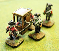 59522 Sedan Chair 28mm kit with Dogmen or on its own