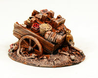59524 Abandoned Provisions Wagon-Pro-Painted Stony Scenic Piece-Ready to ship