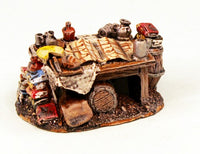 59525 Campaign Table-Pro-Painted Scenic Piece-Ready to Ship