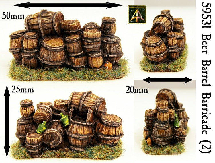 59531 Beer Barrel Barricade (Pack of Two)