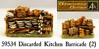 59534 Discarded Kitchen Barricade (Pack of Two)
