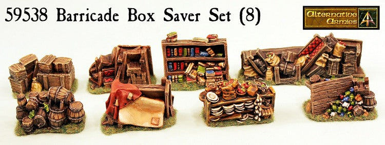 59538 Barricade Boxed Set (8 Models) 59530-59537 - Save 10%