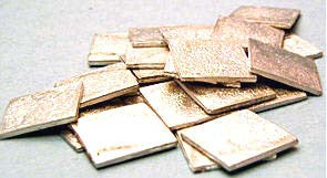 95091 Metal 20mm Square Bases (20)
