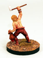 Alpha Miniatures 54mm Scale Germanic Warrior-Axe & Trophy -Pro-Painted-Ready to ship