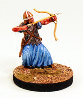 Alpha Miniatures 54mm Scale Roman Auxiliary Archer Shooting-Pro-Painted-Ready to ship