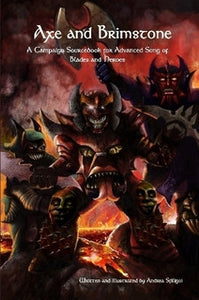 Axe and Brimstone Campaign Sourcebook-supplement book