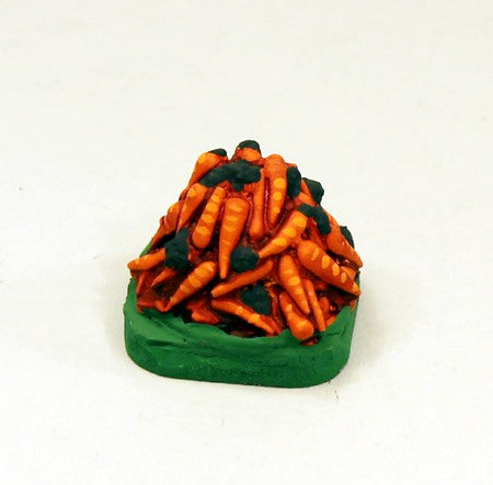 BS28 Carrot Heap-Painted Scenic Miniature