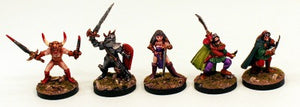 CA3 Evil Adventurers-28mm Pro-Painted Set of 5 Miniatures-Ready to Ship
