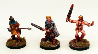 28mm CA7 Classic Fighters-3 Pro-Painted Heroic Figures