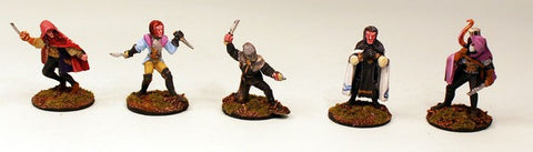 28mm Pro-Painted 10 Man Dark Age Cavalry Unit with Officer and Standard