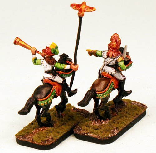 CE5 Garde Dragoon Command-Pro-Painted 2 Crystal Elf Dragoons-Ready to Ship