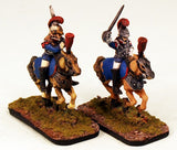 CE9 Garde Cuirassiers-Pro-Painted 2 Crystal Elf Garde Cuirassier-Ready to Ship