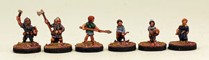 DH2 Halflings of the Gnomish Legion & Gnomes: Pro-Painted 6 Miniatures Set: Ready to Ship