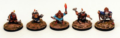 VNT27-02 Stricken Adventurer-Pro-Painted 28mm Fantasy Miniature