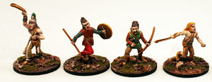 ER02 Milesian Missile Warriors: 4 Miniatures Pro-Painted & Ready to Ship
