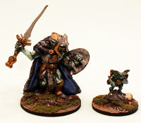 ER14 Culach King of the Fomorians: The Pro-Painted Fomori King & his Pucci Helper- Ready to Ship