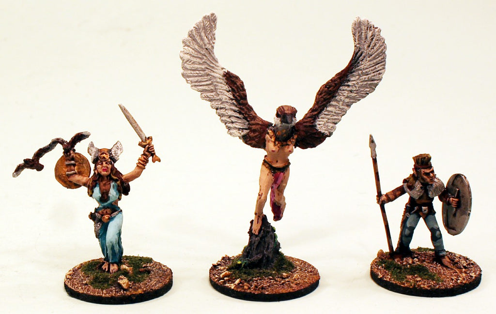 ER22 Warrior Gods of Erin: 3 Pro-Painted Mythic Miniatures-Ready to Ship