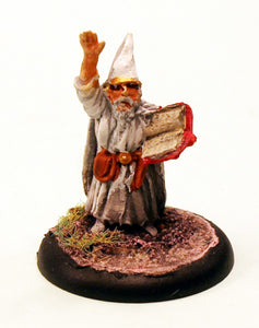 FL4-02: Wizard Casting a Spell-Pro-Painted Ready to Ship