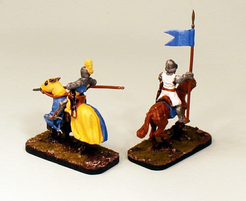 FL8 Mercenaries of Dresda-Pro-Painted set of 2 Cavalry Miniatures