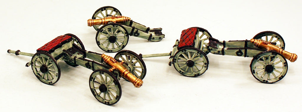 59502 Ferach Artillery Set of 3 Medium Cannons: Pro-Painted Ready to ship