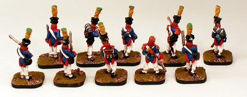 Flintloque 1st Edition Sharke's Rifles and Elf Voltiguers -16 Pro-Painted Miniatures Set