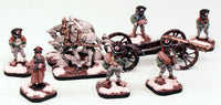 Zombie Artillery Crew, Limber & Cannon: Pro-Painted and Ready to Ship